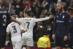 Real Madrid firade åtta gånger om. Jo Inge Berget och Malmö FF blev förnedrade i den sista omgången av Champions League.