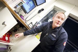 Brandingenjör Erik Klingström är den som är ansvarig för Hesa Fredrik.
