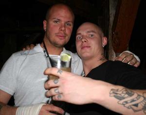 Konrad. Daniel och Gunnar