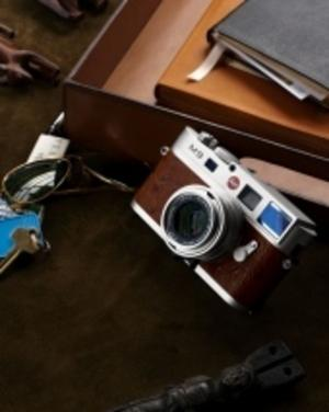 Silverfärgad Leica M9 endast i 50 exemplar