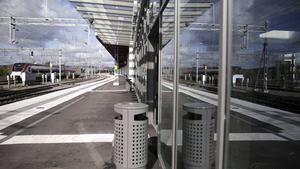 Tågstationen i Falun.