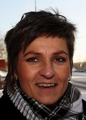 Solbritt Hjalmarsson 45, redovisningsassistent, Rombäck:Inte än men det är på gång.