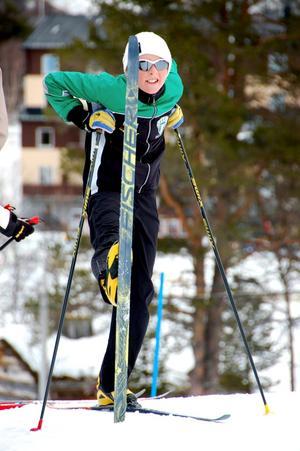 Duktig filmare och skidåkare. Lukas Johansson hade kvalificerat sig till kortfilmsfinal under Stockholms filmfestival. Vann gjorde dock ett annat bidrag. Foto: CARL MAGNUSSON