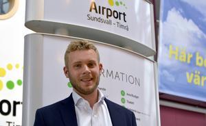 Marknadschef Henning Lindberg på Nextjet tror mycket på direktflyget till och från Göteborg.
