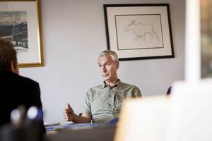 På måndag gör den avgående samhällsutvecklingschefen Stig Olsson, sin sista dag i kommunen.