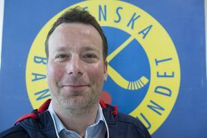 Sveriges förbundskapten Svenne Olsson.