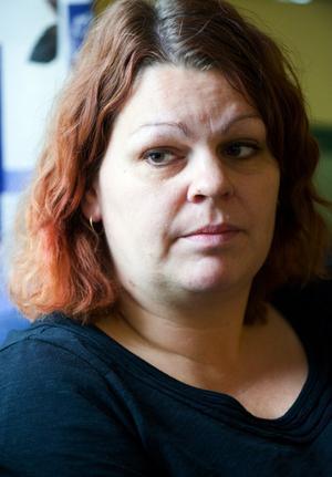 Fritidsledaren Karin Söderström har bland annat blivit kallad fågelskrämma. Foto:Klockar Mattias Nääs