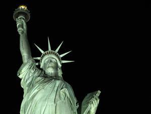 Förebilden till Frihetsgudinnan var ett projekt om att skapa en staty som föreställde en arabisk kvinna.