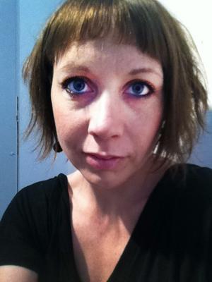 Gävleskådespelerskan Anna  Andersson har varit på Island  under vulkanutbrottet.