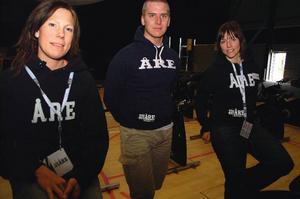Therese Nordfelt, Thomas Berglöf och Marianne Berglöf står bakom Workout-helgen i Åres Holiday Club.   Foto: Elisabet Rydell-Janson