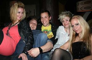 Tabazco. Jessica, Robert, Henrik, Milla och Marie