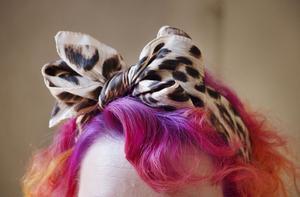 Färgstark hår-konst.