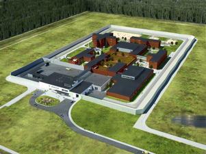 Så här skulle det planerade fängelset sett ut.