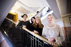 Åsa Bergsman, Maria Kjerlander, Linda Faller och Carola Köningson är lärare på Västa skolan.