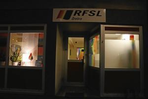 RFSL:s kafé på Järnvägsgatan.