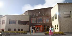 Nya Marnässkolan kommer att utrustas med konst till en kostnad av 660 000 kronor.