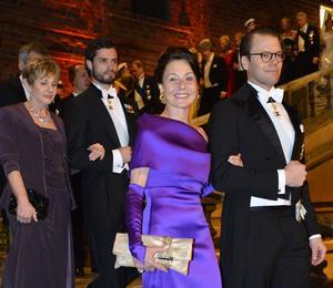 Prins Daniel och Joy Hirsch.