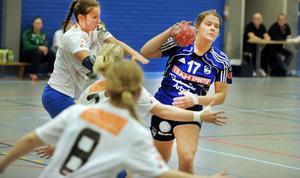 Hedda Forsberg höll stilen och gjorde fem av de 33 målen mot Rimbo.