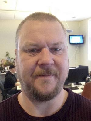 Ulrik Norkvist är vd för Datakompisen som finns i Dorotea och Söderhamn. Foto: Privat.