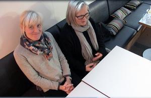Många priser har det blivit genom åren för Åre Chokladfabrik. Marie  Söderhielm och Eva-Lena Grape kan känna sig nöjda.