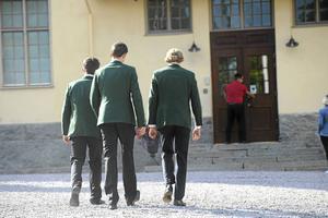Skoluniform är inte lösningen, menar skribenten. Bilden från Lundsbergs internatskola.
