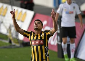 Förre ÖSK-spelaren Ahmed Yasin tryckte in ledningsmålet för Häcken – innan första kvarten ens var spelad.