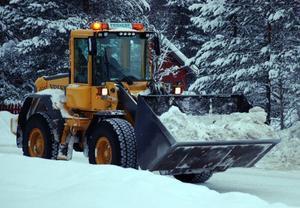 Tekniska nämndens ordförande Lars Bygdén tror att kostnaderna för vintervägunderhållet kommer att hålla sig inom budgeten i vinter  i Härjedalen. Foto: Leif Eriksson