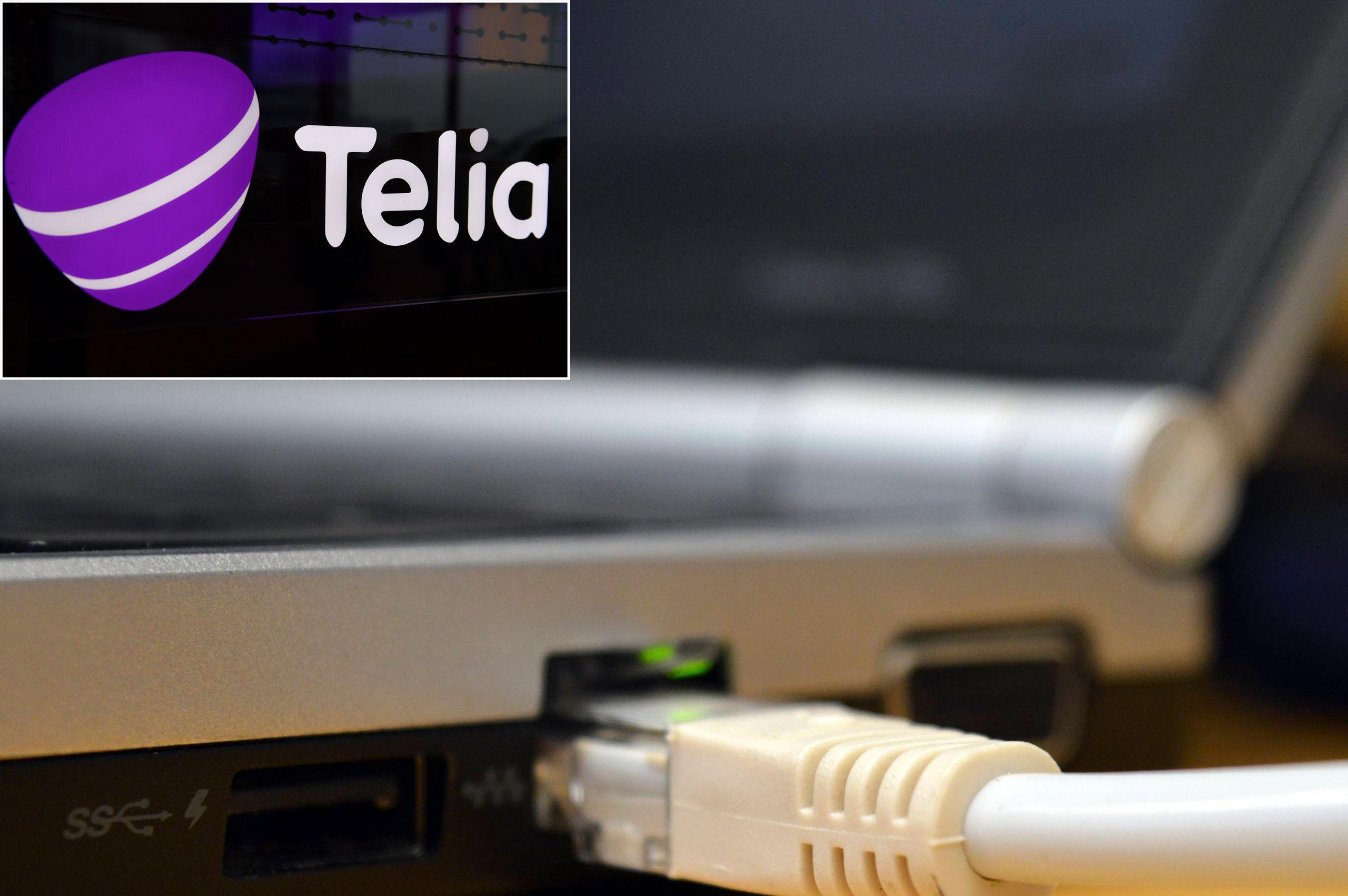 telia bredband företag fiber