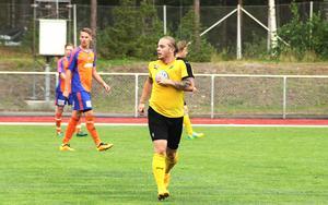 Philip Ogebrant gjorde två mål borta på Sävstaås IP.