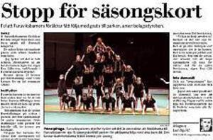Ur  Gefle Dagblad den 22 maj.