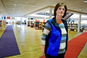Inger Hamrin är bibliotekschef på Mittuniversitetet.