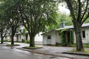 Husen på Almvägen som stått tomma ska nu rivas.