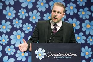 Mattias Karlsson, vikarierande partiledare för Sverigedemokraterna, har kraftigt kritiserat decemberöverenskommelsen.