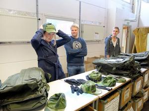 Kepstest. Angelica Ullsten, 19 från Kramfors ryckte in under måndagen i Gävle tillsammans med David Rask, 19, från Gävle och 18-årige Nicklas Persson från Bollnäs.