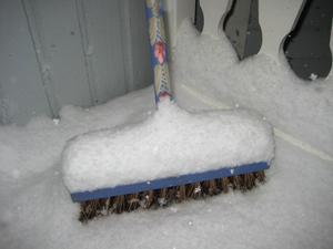 Det är inte bara problem med den första snön, den kan vara vacker också!