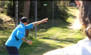 Petri Kalliomäki har åkt från Falun för att delta i tävlingen.