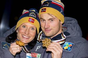 Det ser ut att bli fler guld för Norge i sprintstafetten, åtminstone är