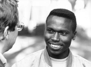 En ung Wilson Kipketer var med i GD-galan både -92 och -93. Senare i karriären tog han bland annat fyra VM-guld.
