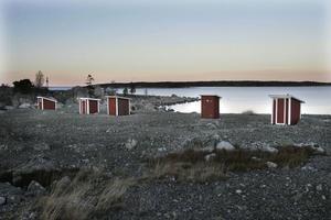 Det gamla fiskeläget Kuggören är en de sju sista orterna som förslås få bredband i Hudiksvalls kommun.