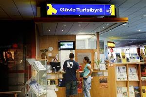 Det har varit mycket turister i Gävle i sommar, enligt Elena Yakustina på turistbyrån.