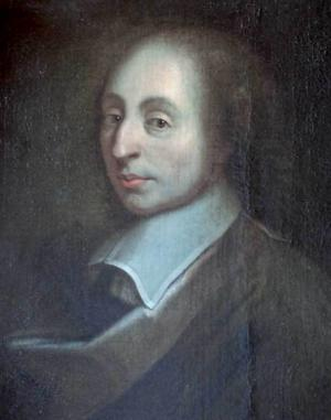 Blaise Pascal, 1623-62.