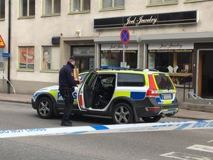 Rån mot juvelerarbutik på Nygatan.