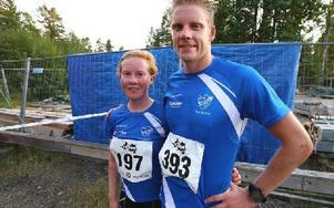 Mora dominerade stort i The Run. Louise Bergfeldt och Lars Suther vann 10 km. Foto: Johnny Fredborg