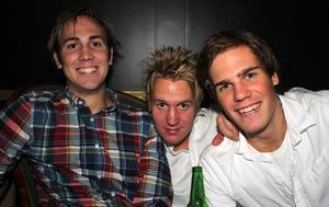 Silk. Johan, Daniel och Linus