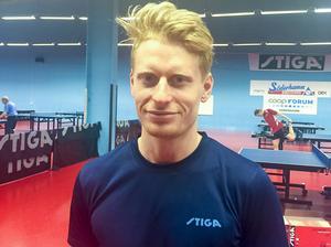 Hampus Nordberg är en många spelare från Söderhamns UIF med medaljchans i SM.