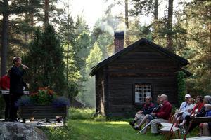 Tisdagskvällarna på Borgsjö hembygdsgård brukar vara välbesökta. Bilden är en arkivbild.