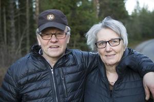 För Berit och Sven Henriksson är saknaden efter Bamse stor.