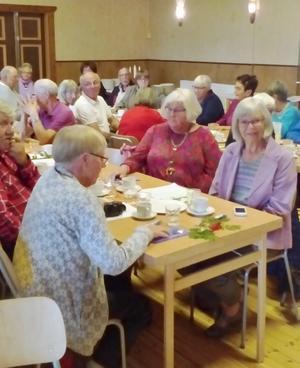 55 medlemmar besökte mötet i Hedeviken. Foto: Åke Nilsson