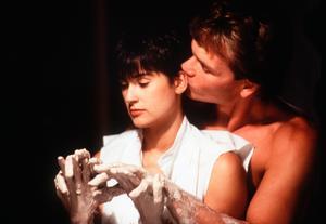 Patrick Swayze spelade ett spöke mot Demi Moore i en annan av sina mest kända filmer,