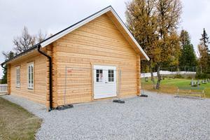 Det timrade kapellet i Högvålen  behöver ytterligare 1,5 miljoner kronor för att byggas klart.